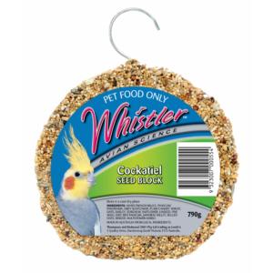 Whistler cockatiel block
