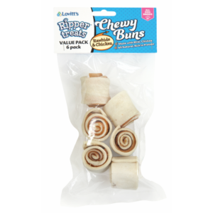 Ripper Rawhide Chewy Buns
