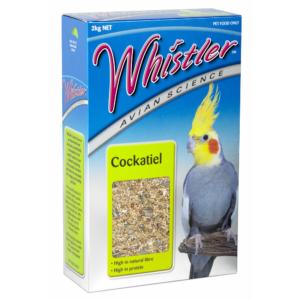 Whistler cockatiel 2kg