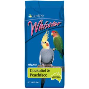 Whistler cocky & peachface 15kg